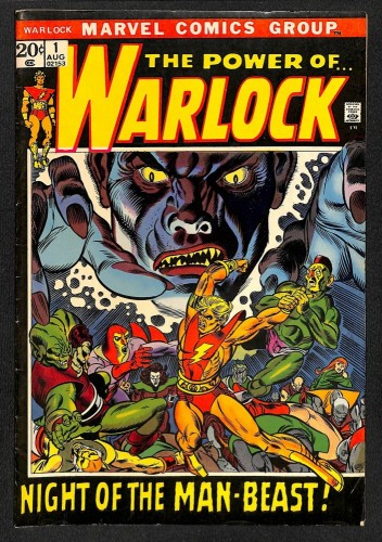 Warlock #1 FN- 5.5