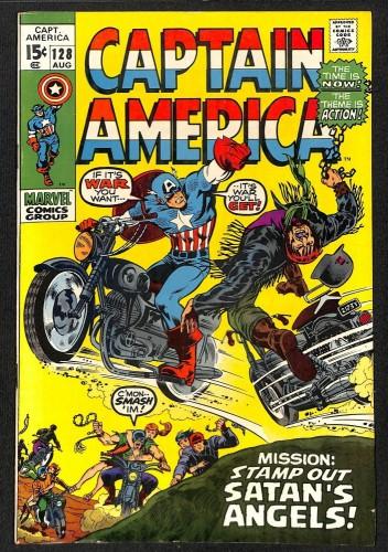 Captain America #128 VF 8.0 Marvel Comics