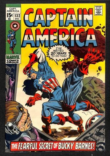 Captain America #132 VF 8.0 Marvel Comics