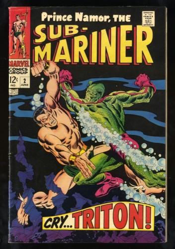 Sub-Mariner #2 FN+ 6.5 Marvel Comics
