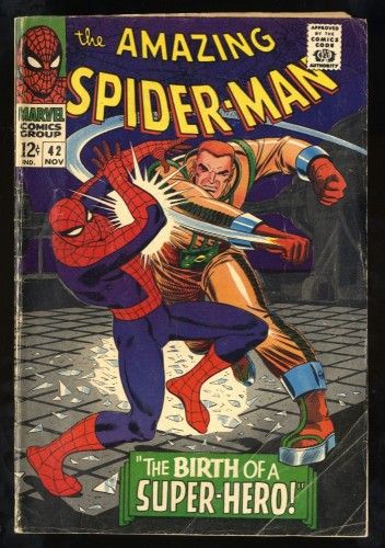 Amazing Spider-Man #42 GD/VG 3.0 1st Mary Jane Watson! Marvel Comics Spiderman