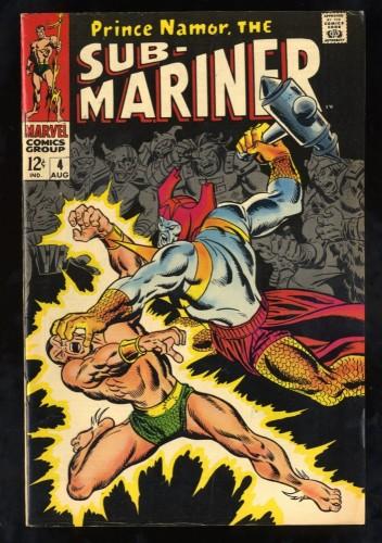 Sub-Mariner #4 VG/FN 5.0 Marvel Comics