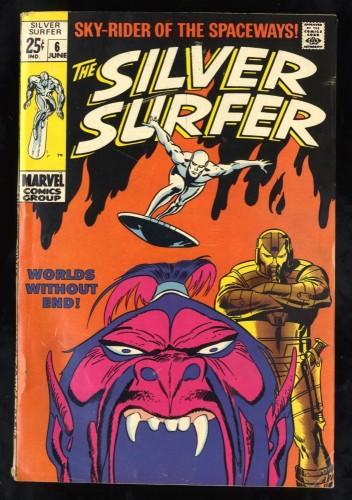Silver Surfer #6 VG+ 4.5 Marvel Comics