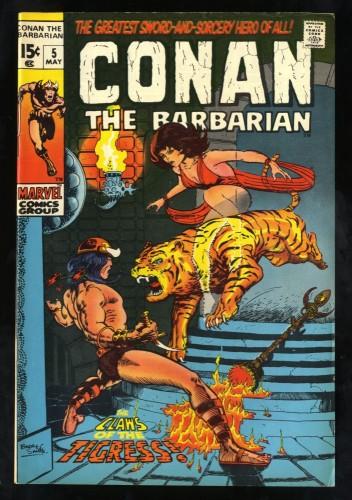 Conan The Barbarian #5 FN+ 6.5