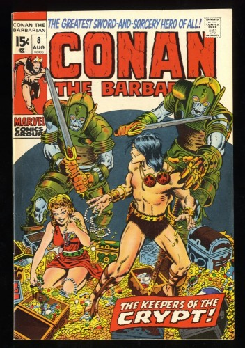 Conan The Barbarian #8 FN/VF 7.0