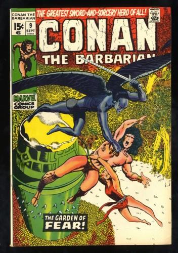 Conan The Barbarian #9 FN+ 6.5