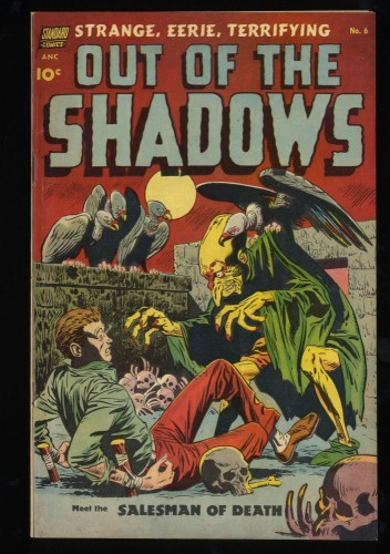 Out of the Shadows #6 FN/VF 7.0