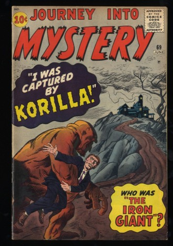 Journey Into Mystery #69 FN+ 6.5 Marvel Comics Thor