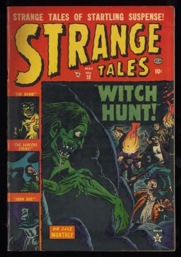 Strange Tales #18 VG/FN 5.0 Marvel Comics Nick Fury Doctor Strange Torch