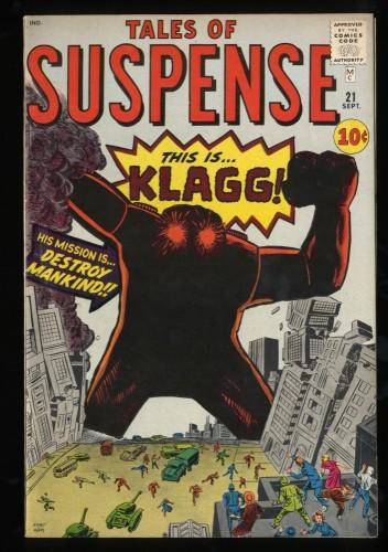 Tales Of Suspense #21 FN/VF 7.0 Pre-Hero Klagg!