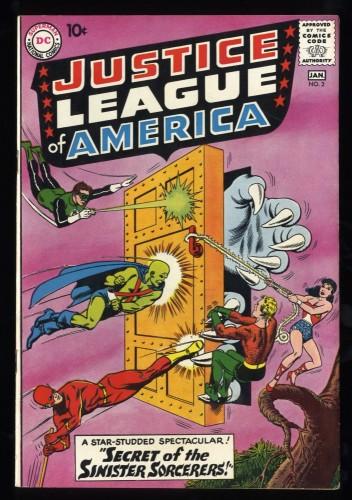 Justice League Of America #2 VF- 7.5 Massachusetts DC Comics