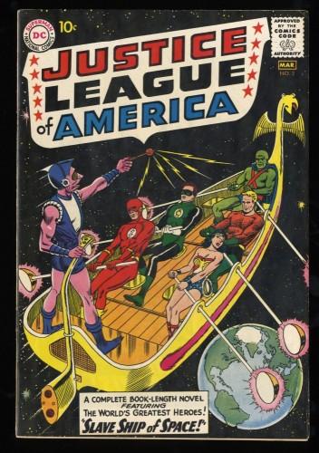 Justice League Of America #3 FN+ 6.5 Massachusetts DC Comics