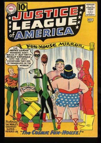 Justice League Of America #7 FN/VF 7.0 DC Comics