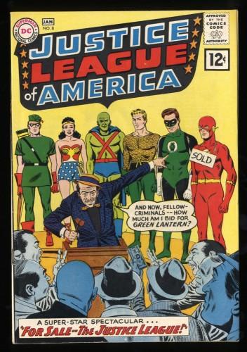 Justice League Of America #8 VF- 7.5 DC Comics