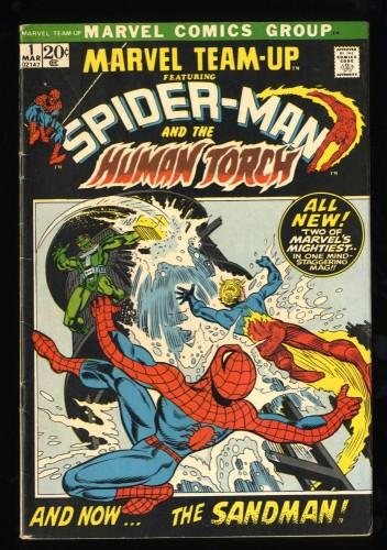 Marvel Team-up #1 VG+ 4.5