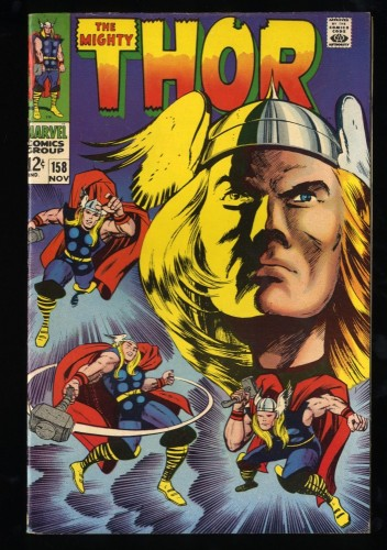 Thor #158 FN+ 6.5
