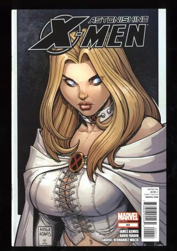 Astonishing X-Men #43 NM/M 9.8 Art Adams Emma Frost Cover!