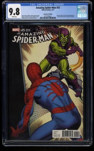 Amazing Spider-Man #25 CGC NM/M 9.8 1:1000 Romita Remastered Color Variant
