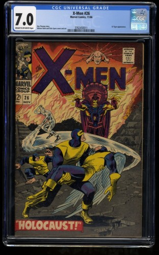 X-Men #26 CGC FN/VF 7.0 Cream To Off White Marvel Comics