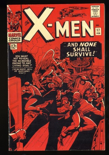 X-Men #17 VG/FN 5.0 Marvel Comics
