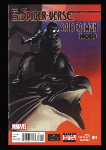 Edge of spider-verse #1 NM+ 9.6 Spider-Man Noir Appearance!