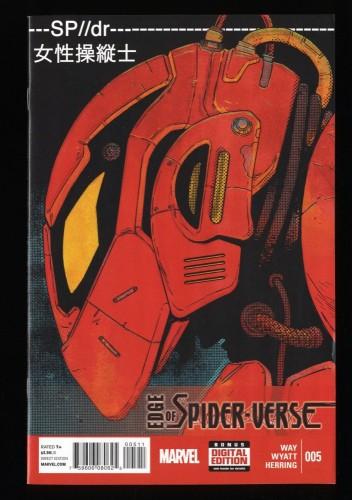 Edge of spider-verse #5 VF/NM 9.0 1st Peni Parker!