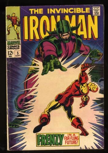 Iron Man #5 VG- 3.5