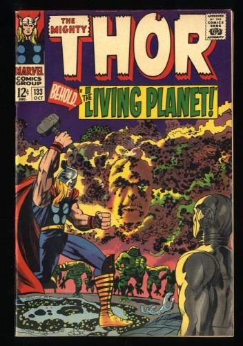 Thor #133 FN 6.0 1st Ego! Marvel Comics