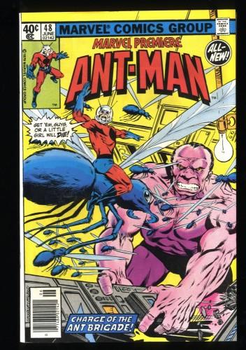 Marvel Premiere #48 VF+ 8.5 Ant Man! Comics