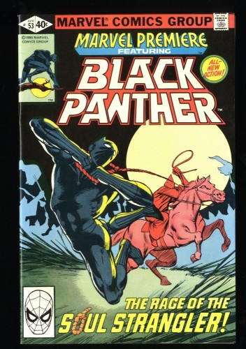 Marvel Premiere #53 NM 9.4 Black Panther! Comics