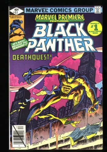 Marvel Premiere #51 VF/NM 9.0 1st Solo Black Panther!