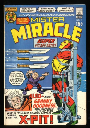 Mister Miracle #2 FN 6.0 1st Granny Goodness!