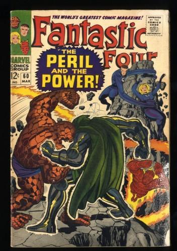 Fantastic Four #60 Inc 0.3 Marvel Comics
