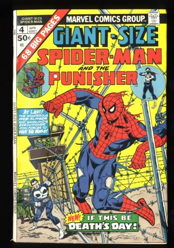 Giant-Size Spider-Man #4 FN/VF 7.0 3rd Punisher!