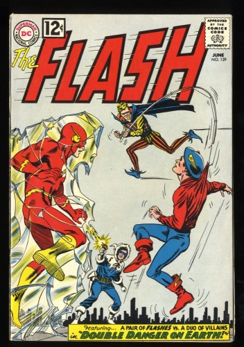 Flash #129 FN+ 6.5 2nd Golden Age Flash! DC Comics
