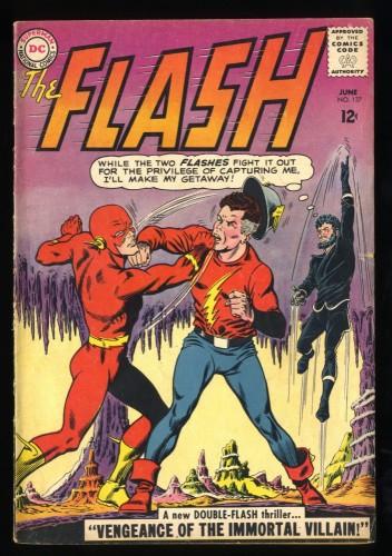 Flash #137 VG/FN 5.0 1st Silver Age Vandal Savage! DC Comics