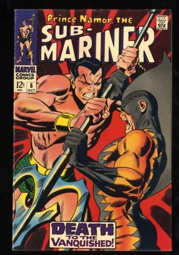 Sub-Mariner #6 FN+ 6.5 2nd Tiger Shark!