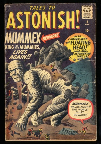 Tales To Astonish #8 GD/VG 3.0