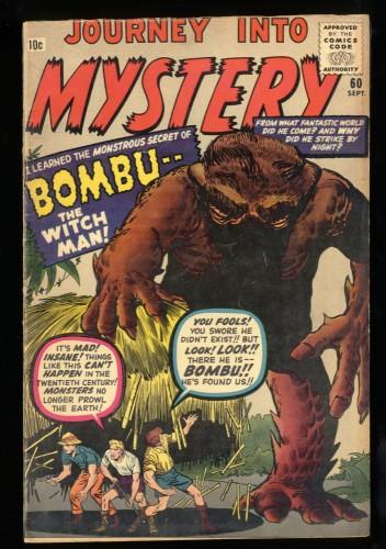Journey Into Mystery #60 VG+ 4.5
