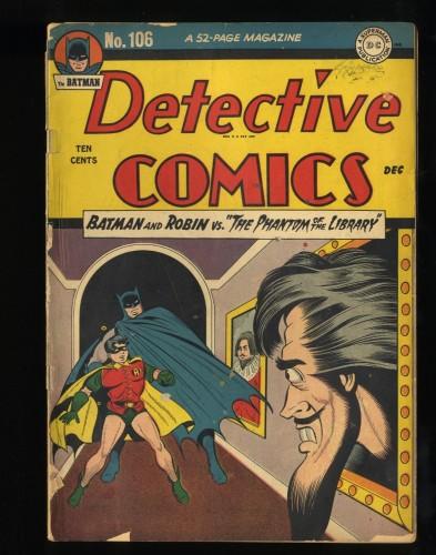 Detective Comics #106 FA/GD 1.5