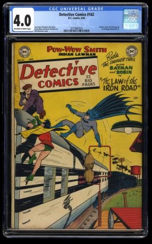 Detective Comics #162 CGC VG 4.0 Off White to White