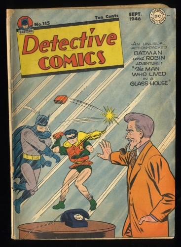 Detective Comics #115 Inc 0.3