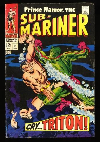 Sub-Mariner #2 VG+ 4.5