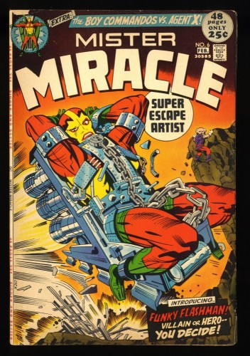 Mister Miracle #6 VG 4.0 1st Female Furies!