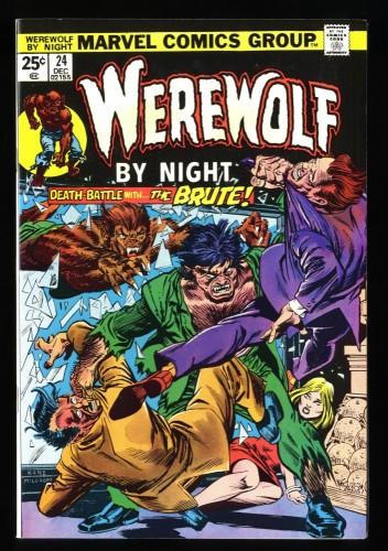 Werewolf By Night #24 NM- 9.2