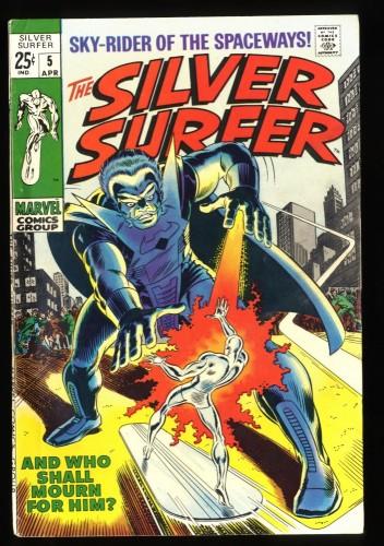 Silver Surfer #5 FN+ 6.5