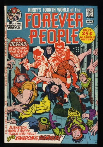 Forever People #4 VF 8.0