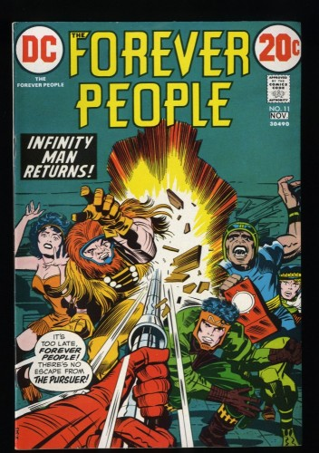 Forever People #11 VF/NM 9.0