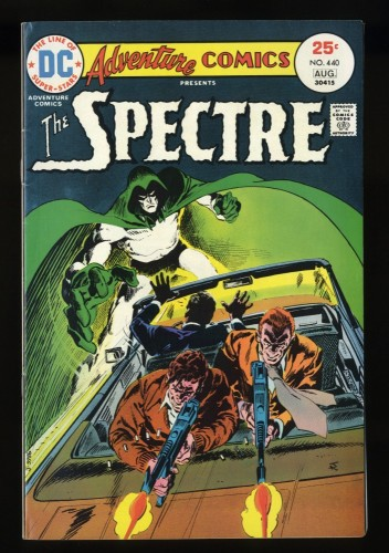 Adventure Comics #440 VF+ 8.5 Spectre!