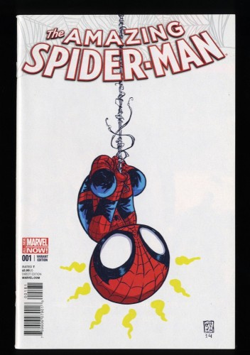 Amazing Spider-Man (2014) #1 NM+ 9.6 Skottie Young Variant 1st Cindy Moon!